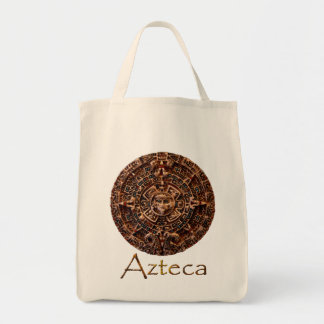 ~ de AZTECA maya - diseño azteca del arte del cale Bolsa Tela Para La Compra