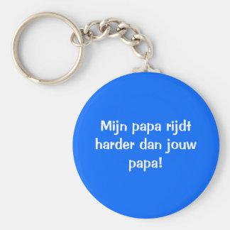 De beste papa sleutelhanger llavero redondo tipo chapa