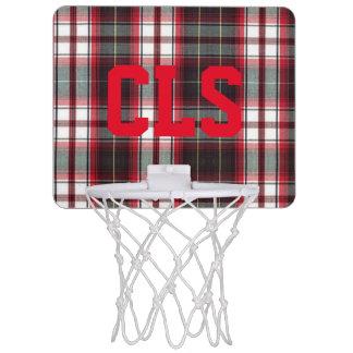 De CLS aro de baloncesto de la tela escocesa