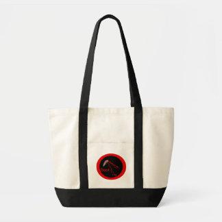 De contrabando bolsa tela impulso
