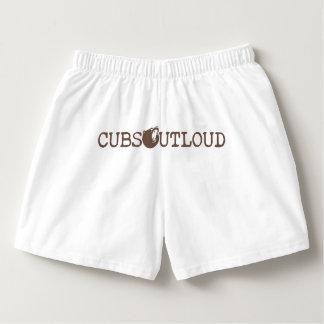 De Cubs ropa interior ruidosa del logotipo V3 Calzoncillos