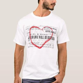 Dé el amor:  La camiseta de los hombres - xl