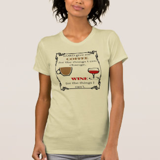 Dé el café y el vino, camisetas
