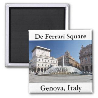 De Ferrari Square, Génova, Italia Imán Cuadrado