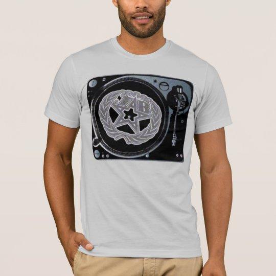 """DE GIRO A LA DERECHA - """"American Apparel """" Camiseta"""