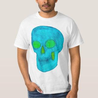 De hecho verde y azul/turquesa camiseta