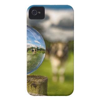 De hierba al vidrio carcasa para iPhone 4 de Case-Mate