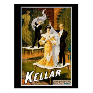 """~ de Kellar """"ido """" Postal"""