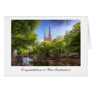 De Krijtberg, enhorabuena de Singel en la Tarjeta De Felicitación