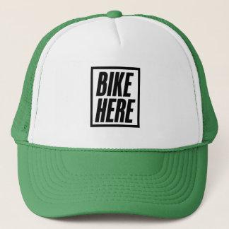 De la bici gorra del camionero aquí