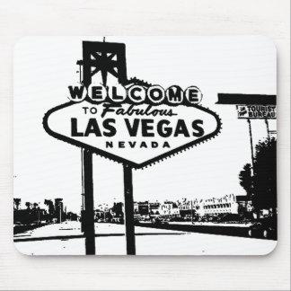 Dé la bienvenida al gráfico de vector de Las Vegas Alfombrilla De Ratón