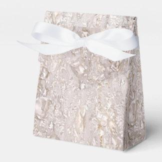 De la caja fina blanca del favor del boda de la