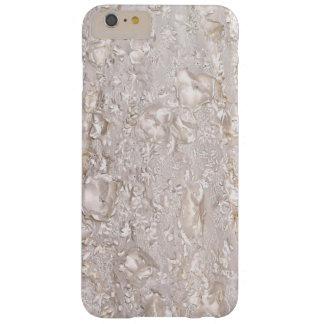 De la caja fina blanca del iPhone de la textura Funda Barely There iPhone 6 Plus