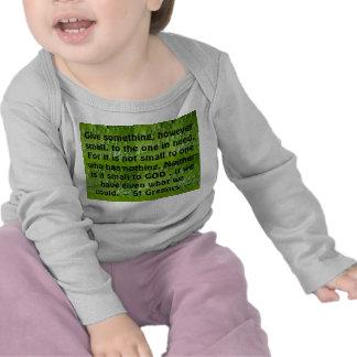 dé la camisa infantil