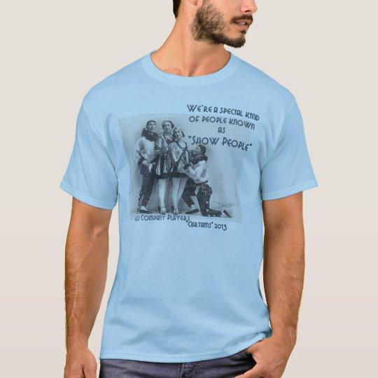 """De la """"camiseta básica gente de la demostración"""" camiseta"""