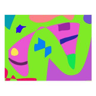 De la felicidad esperanza futura mañana que anima tarjeta postal