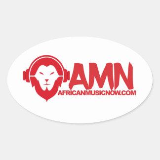 De la música pegatina africano ahora