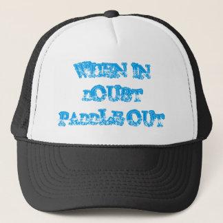 De la paleta gorra 2 del camionero hacia fuera