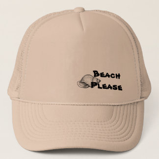 De la playa gorra por favor
