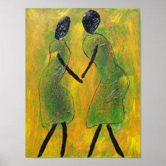 De la recepción impresión africana del arte detrás