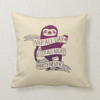 """De la """"siesta almohada divertida del algodón todo"""