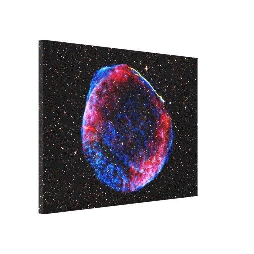 De la supernova la imagen más brillante del espaci impresión de lienzo