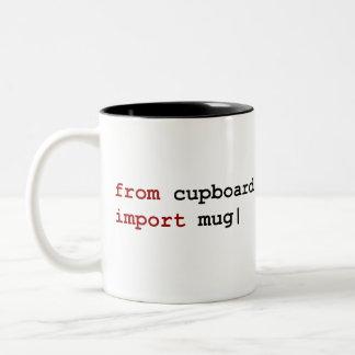 De la taza de la importación del armario - pitón