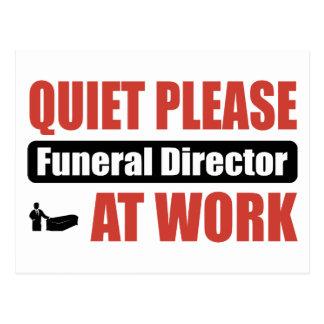 De la tranquilidad director de funeraria por favor postales