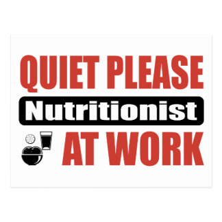 De la tranquilidad nutricionista por favor en el postal