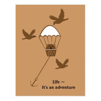 ~ de la vida es una aventura postal