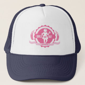 De Lafayette de los chicas de la pinta gorra hacia