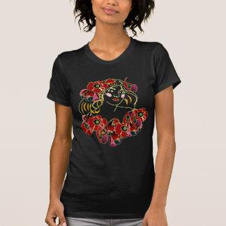 De las amapolas camisetas de Darck fot