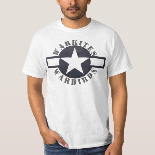 """De las barras de Warkites warbirds de """"ESTRELLAS Camiseta"""