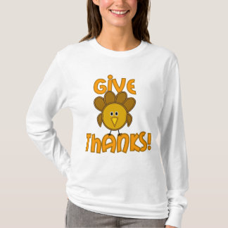¡Dé las gracias! Camiseta