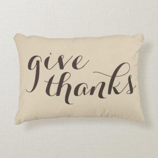 dé las gracias y sea almohada de doble cara