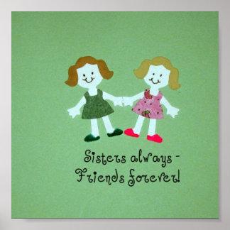 ¡De las hermanas amigos siempre - para siempre Poster