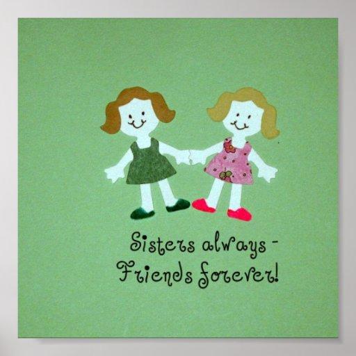 ¡De las hermanas amigos siempre - para siempre! Poster