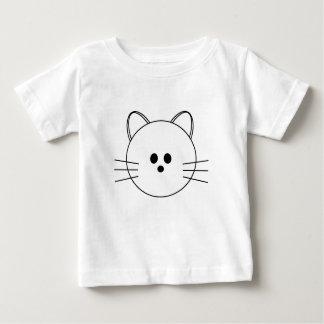 """De las patas camiseta infantil del """"gatito"""" aquí"""