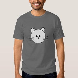 """De las patas camiseta oscura básica del """"gatito"""""""