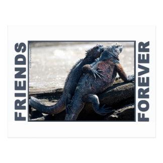 De los amigos postal para siempre