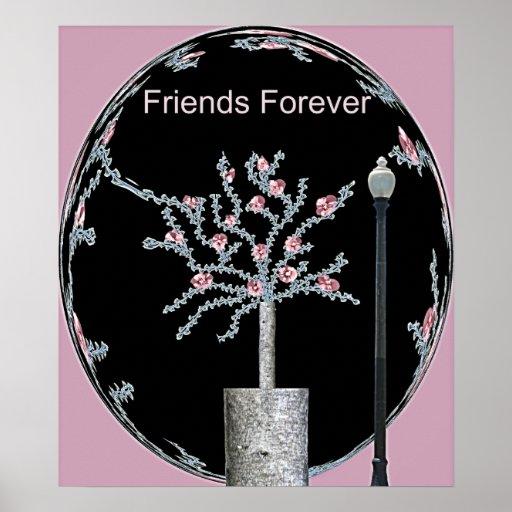 De los amigos poster para siempre