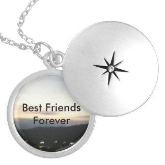 De los mejores amigos Locket adaptable del collar