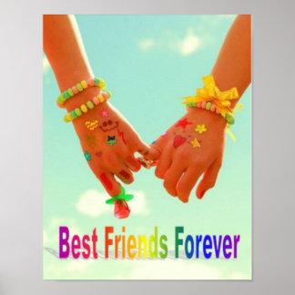 De los mejores amigos poster para siempre