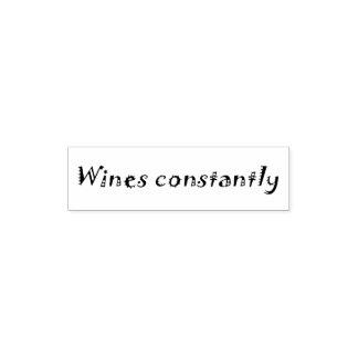 De los vinos sello de la oficina del humor de la