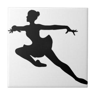 ~ de lujo de la bailarina del JMO (silueta del Azulejo Cuadrado Pequeño