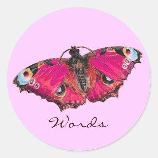 de Mariposa Pegatinas
