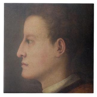 De Medici de Cosimo I (1519-74) como hombre joven, Azulejo