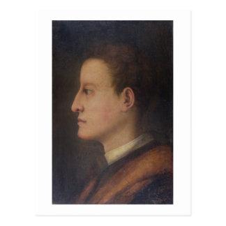De Medici de Cosimo I (1519-74) como hombre joven, Postal