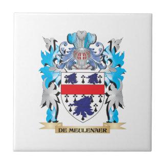 De-Meulenaer escudo de armas - escudo de la famili Azulejos Cerámicos