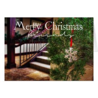 De mi casa el suyo tarjeta de Navidad